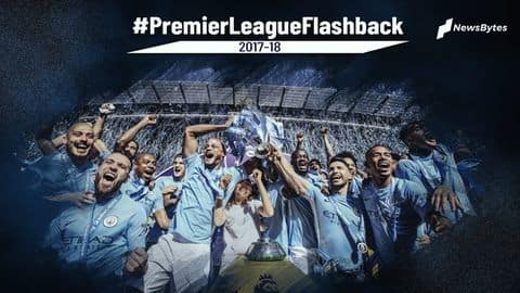 Premier League flashback: Statistical review of the 2017-18 season