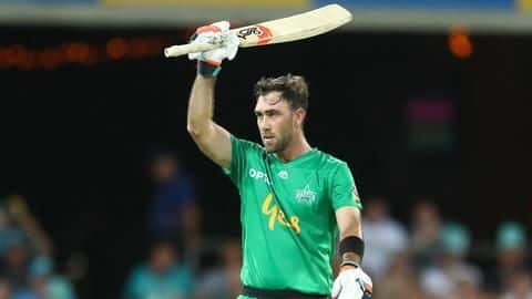 Glenn Maxwell knock lifts Melbourne Stars to BBL victory