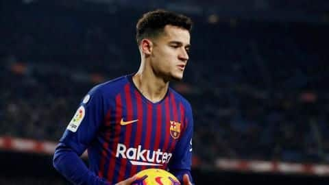 Philippe Coutinho completes loan move to Bayern Munich