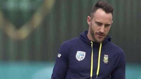Proteas skipper Faf du Plessis suffers another injury