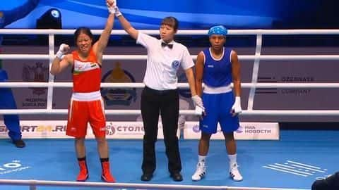 Records held by Mary Kom after securing eighth world medal