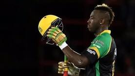 All-round blitz by Russell lights up Caribbean Premier League 2018