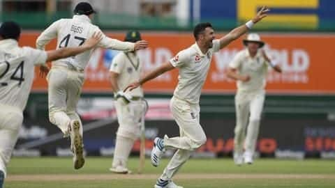 2nd Test, England beat South Africa: List of records broken