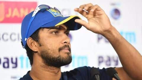 Lanka skipper Chandimal charged with 'changing the condition' of ball