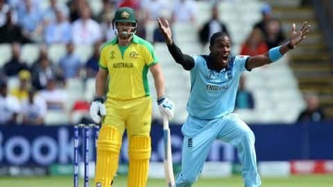 Played with help of painkillers during World Cup: Jofra Archer