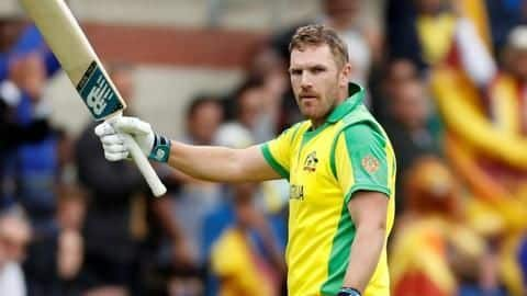 Finch has his eyes on the 2023 ODI World Cup