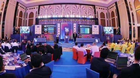 IPL 2020 auction: All that you need to know