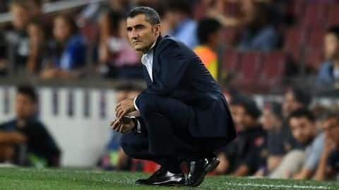 Barcelona sack Ernesto Valverde: A look at his numbers