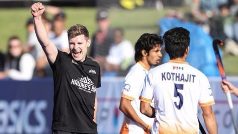 Indian hockey team goes down against New Zealand