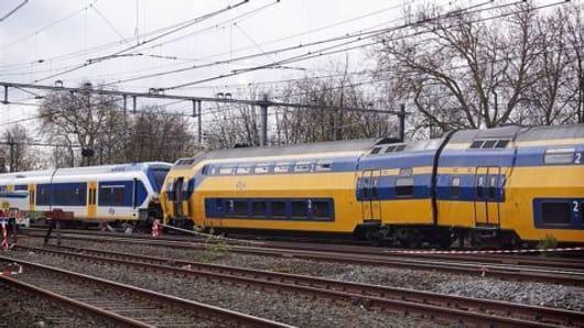 Deadly train collision in Iran
