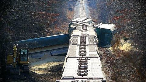 Four trains collided with road vehicles so far
