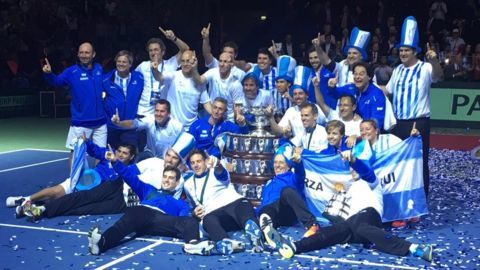 Argentina beat Croatia 3-2 to seal the Davis Cup victory