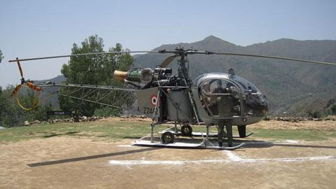 Army's Cheetah helicopter crashes in WB