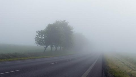 Foggy highways make for a harrowing drive