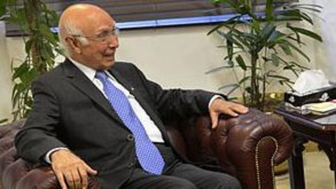 Aziz's arrival sparks speculation of peace talks