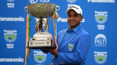 Mukesh becomes oldest golfer to win Asian tour first-time