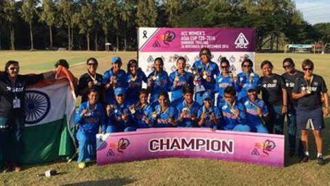 Indian women beat Pakistan to win 6th straight Asia Cup