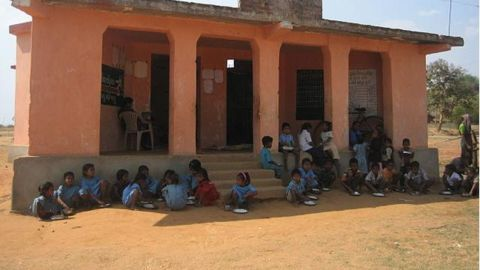 Young girl crushed under school gate
