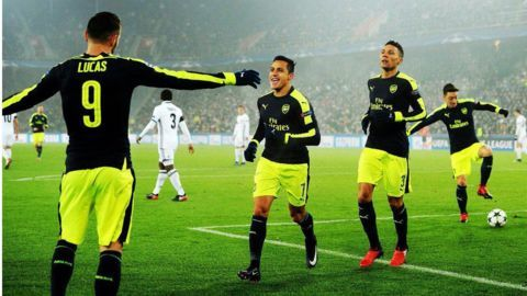 Arsenal, Barca, Napoli, Atletico top respective groups