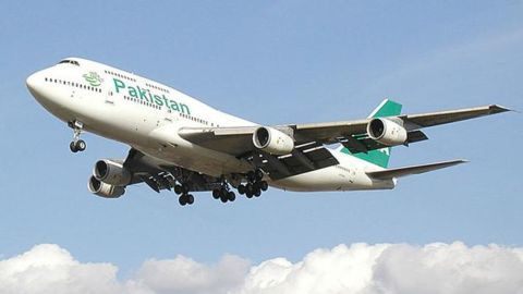 The Pakistan International Airlines crash