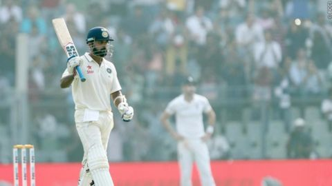 India make good start on day two after England's 400