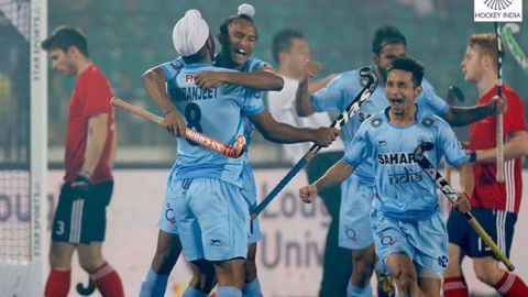 India register second win at the Hockey Junior World Cup