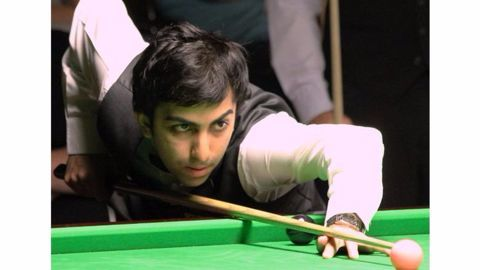 Advani only Indian player to win 10 World Billiards title