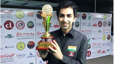 Pankaj Advani - Professional Billiards player