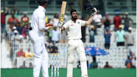 KL Rahul's ton helps India stand strong against England
