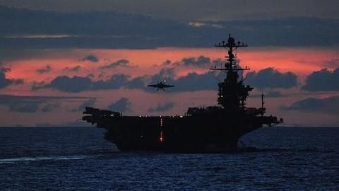 Chinese aircraft carrier passes Taiwan