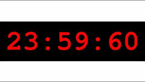 Leap second added to the Indian clock