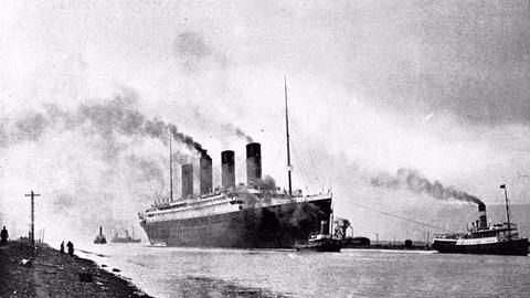 Evidence suggests that a fire sank the Titanic