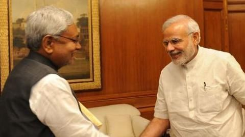 Modi, Nitish Kumar ties warming up post note-ban