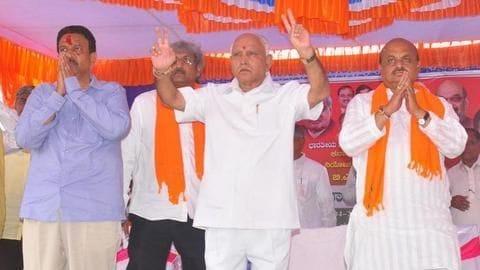 Yeddyurappa all set to become Karnataka's CM now