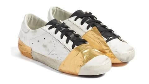 People Can't Believe These Taped-Up, Dirty-Looking Sneakers Cost $530