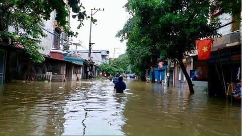 At least 20 dead and dozens missing after flooding hits Vietnam