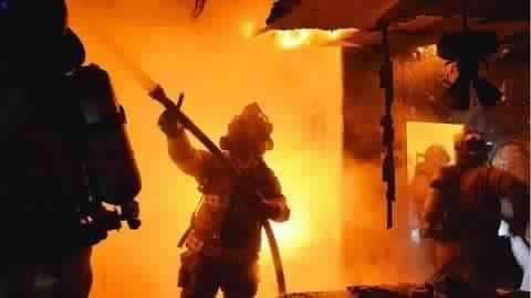 Mumbai: Part of building collapses after fire; fire-brigade personnel injured