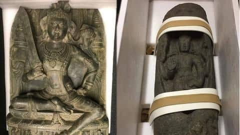 US returns two antique statues worth $500,000 stolen from India