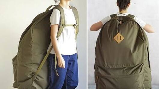 Human-sized backpacks in Japan are the new cool