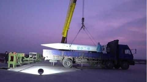 China tests hypersonic nuclear warhead