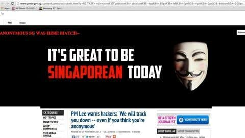 Singapore PM's heath-record hacked, along with records of 1.5mn Singaporeans
