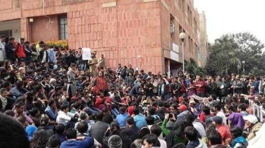 JNUSU polls: Counting suspended after ABVP protest