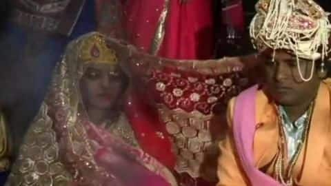 Bride shot at during wedding, returns injured, completes rituals