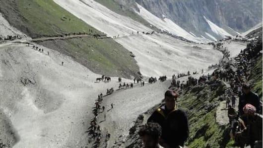 782 pilgrims leave for Amarnath Yatra