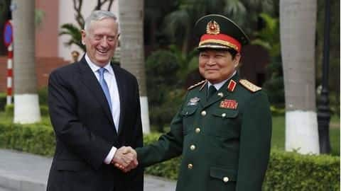 US's Jim Mattis to meet Chinese counterpart amid US-China tensions