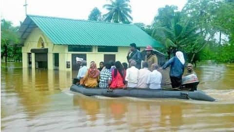 Kerala: Over 8,000 families shifted to relief-camps due to floods