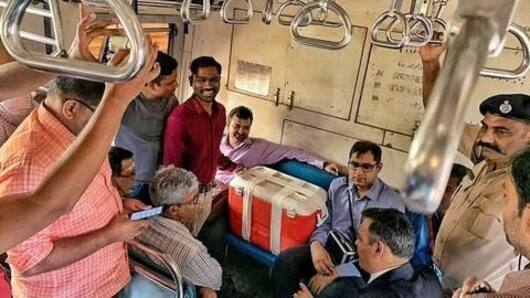 Liver for transplant carried in Mumbai local train