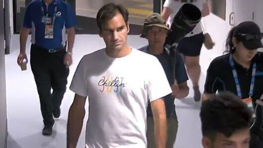 Federer denied locker-room entry as he forgets ID