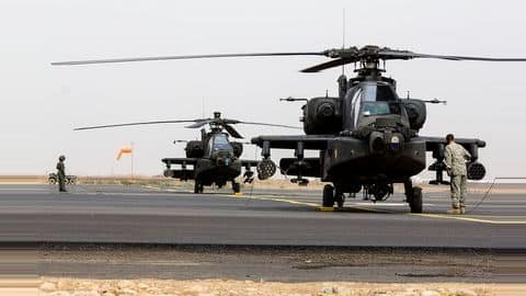 US approves Apache attack choppers' sale to India