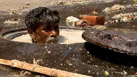 Delhi government discusses possibilities of 'robots' cleaning sewers